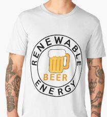 Best Renewable Energy Beer, I love beer Men's Premium T-Shirt
