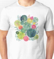 Succulent Circles Unisex T-Shirt