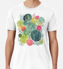 Sukkulenten Kreisen Premium T-Shirt