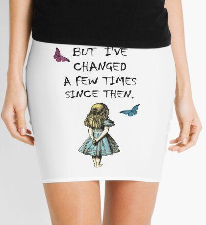 Cita Alicia en el país de las maravillas Minifalda