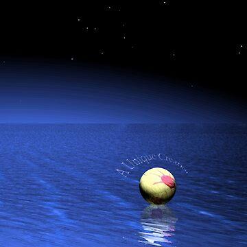 Beach Ball Adrift by UniqueCreator