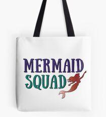 Mermaid Squad Tote Bag