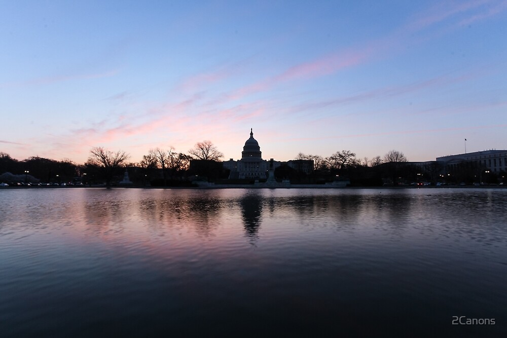 Sunrise with the U.S. Capitol 04-2014 by 2Canons