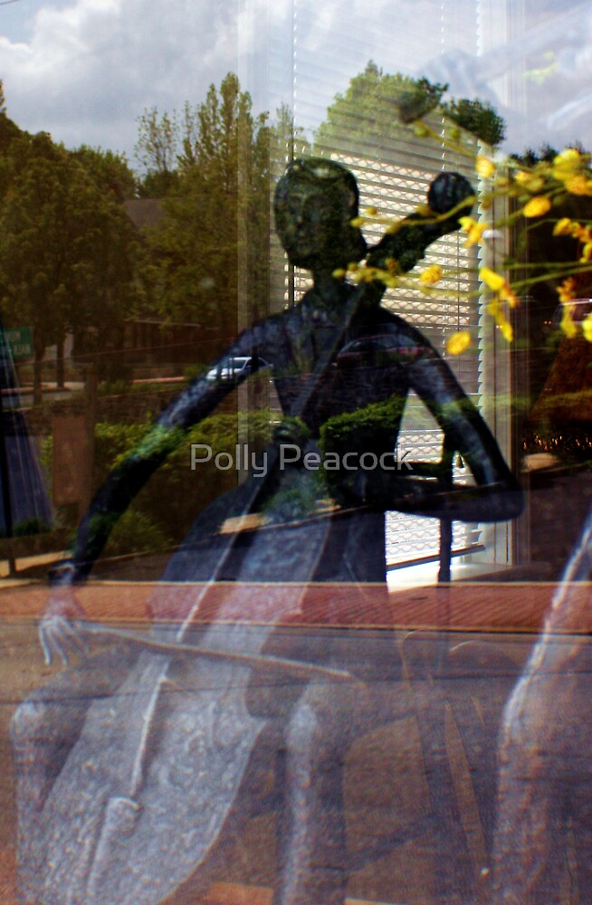 The Cello Player by Polly Peacock