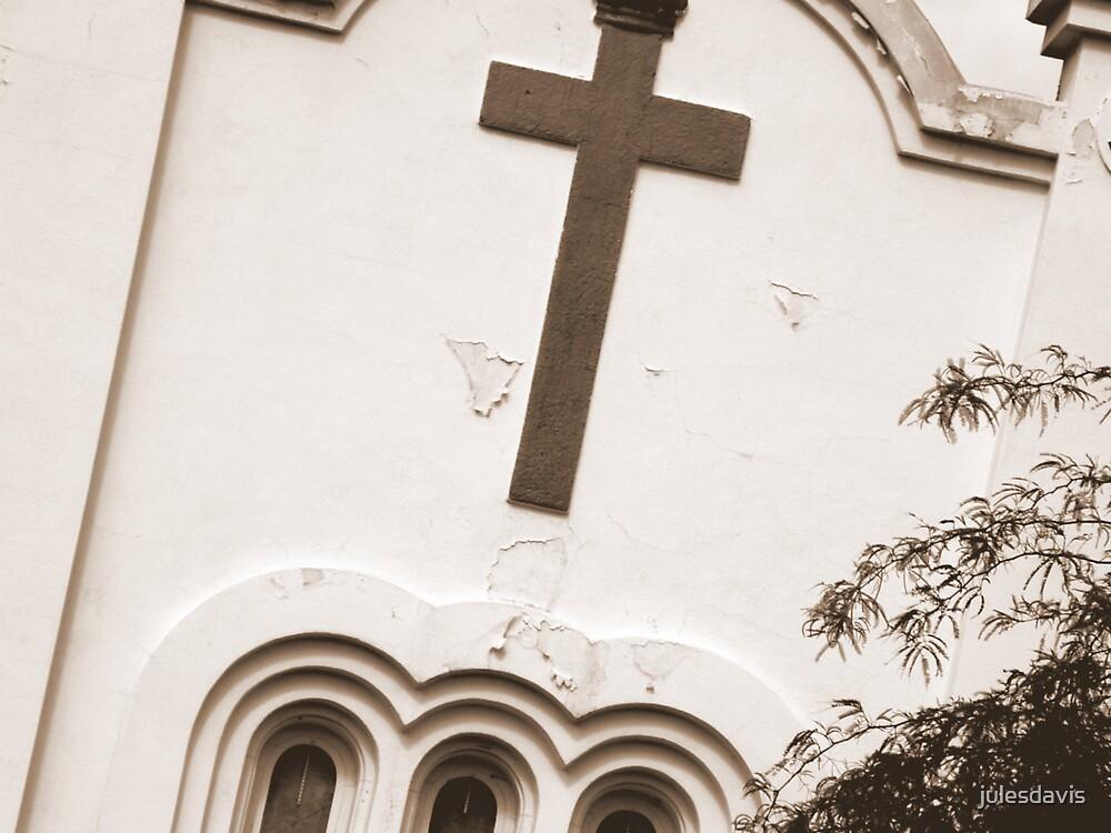 Sepia Church by julesdavis