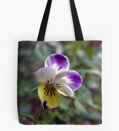 Teeny, Tiny, Perfect Violet Tote Bag