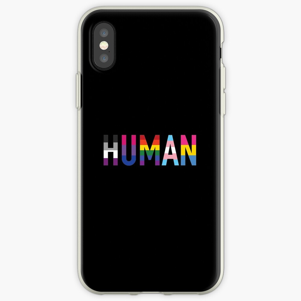 Human, LGBT+ iPhone Cases & Covers