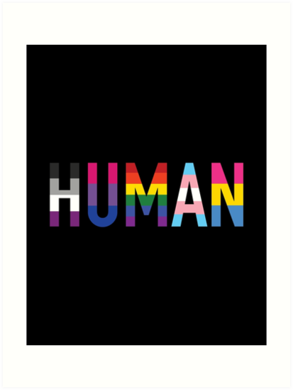 Human, LGBT+ by Skyler Orion