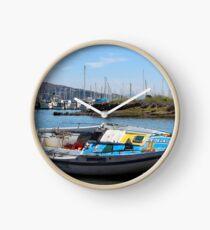 Bo's stuck boat Clock