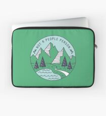 Not A People Person - Mountains Laptop Sleeve