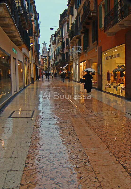 Quot Verona Marble Streets Quot By Al Bourassa Redbubble