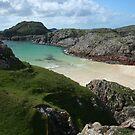 Beach, Isle of Iona UK by Mishimoto