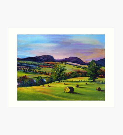 Highland Autumn Art Print