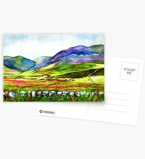 Pentland Hills, Edinburgh Postcards