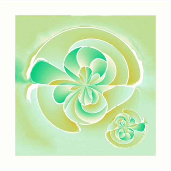 Irregular floral shapes by Gaspar Avila