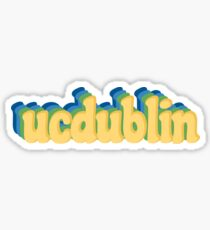 ucdublin - university college dublin Sticker