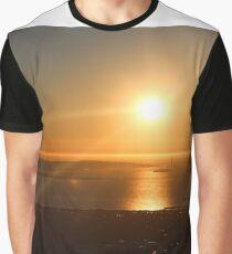 Sunset from Berkeley, CA  Graphic T-Shirt