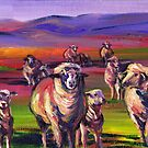Sheepies by Genevieve  Cseh