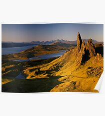 Sunrise at Old Man of Storr, Isle of Skye Poster