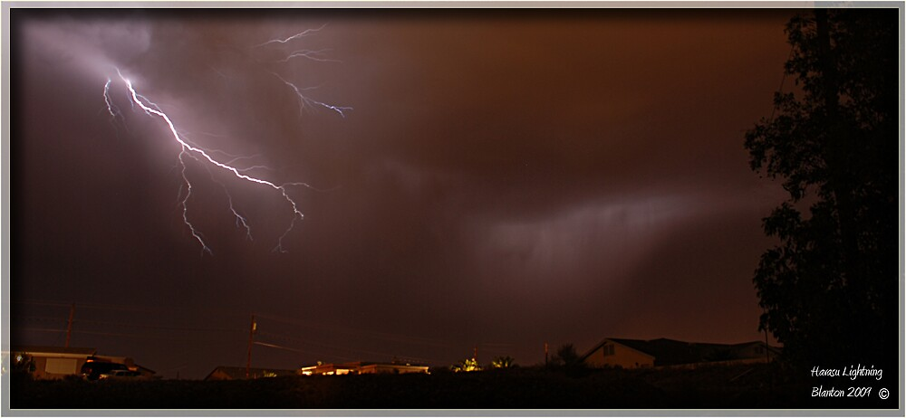 HAVASU LIGHTNING by foxxmulder70