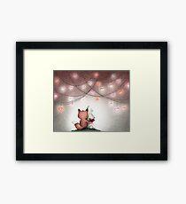 Valentine Buddies Framed Print