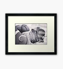 Abstract. Framed Print
