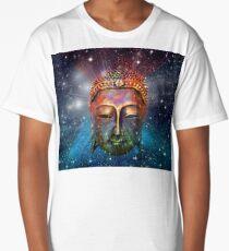 Buddha face Long T-Shirt