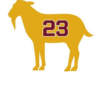 LeBron James Shirt | LeBron Goat | King James Crown Tshirt | Cleveland The Goat 23 | LBJ Shirt LeBron GOAT by BashkiSupply