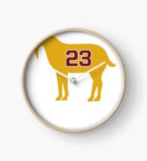 LeBron James Shirt | LeBron Goat | King James Crown Tshirt | Cleveland The Goat 23 | LBJ Shirt LeBron GOAT Clock