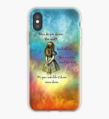 Wonderland Time - Alice In Wonderland Quote Vinilo o funda para iPhone