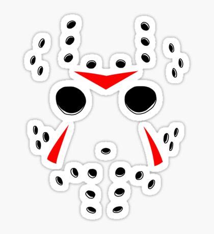 Hockey Mask Sticker