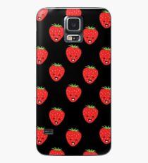 Cartoon Strawberry Phone Case, Sticker & Card Case/Skin for Samsung Galaxy