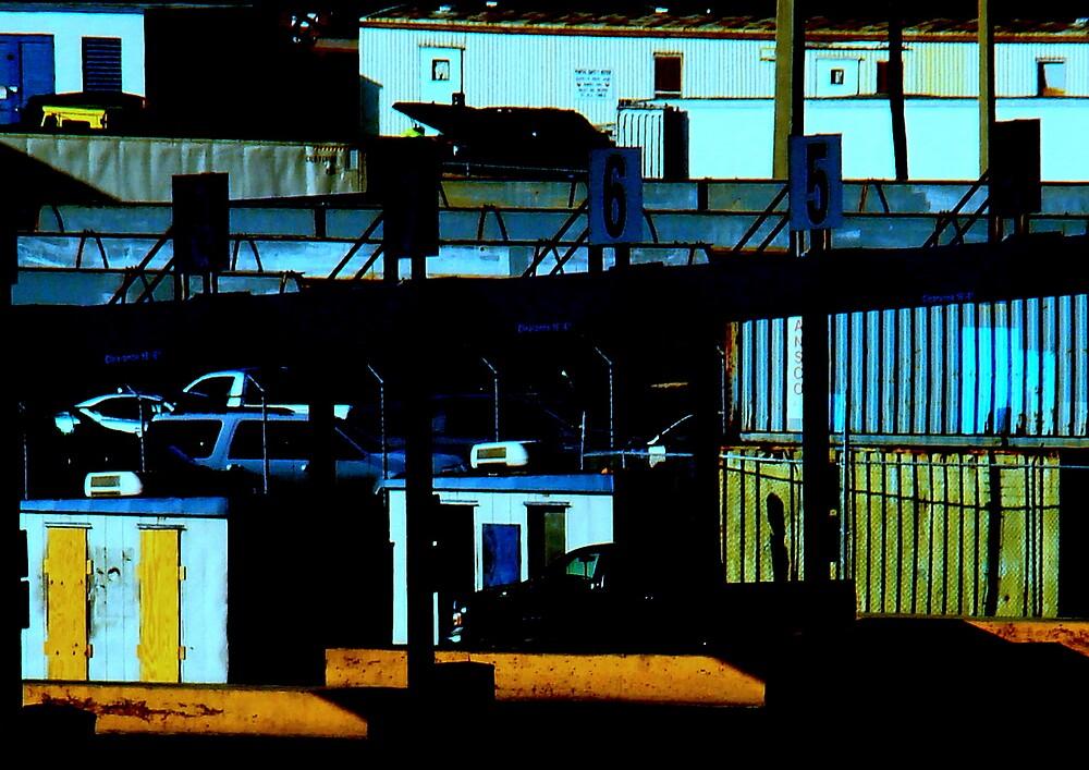 Urban Shadow.  by Elizabeth Rodriguez