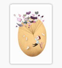 Magical Balloon Books Sticker