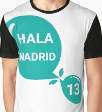 Real Madrid wins the 13th Champions League Graphic T-Shirt
