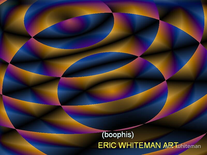 ( BOOPLIS ) ERIC WHITEMA  ART  by eric  whiteman