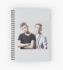 two boys cool Spiral Notebook