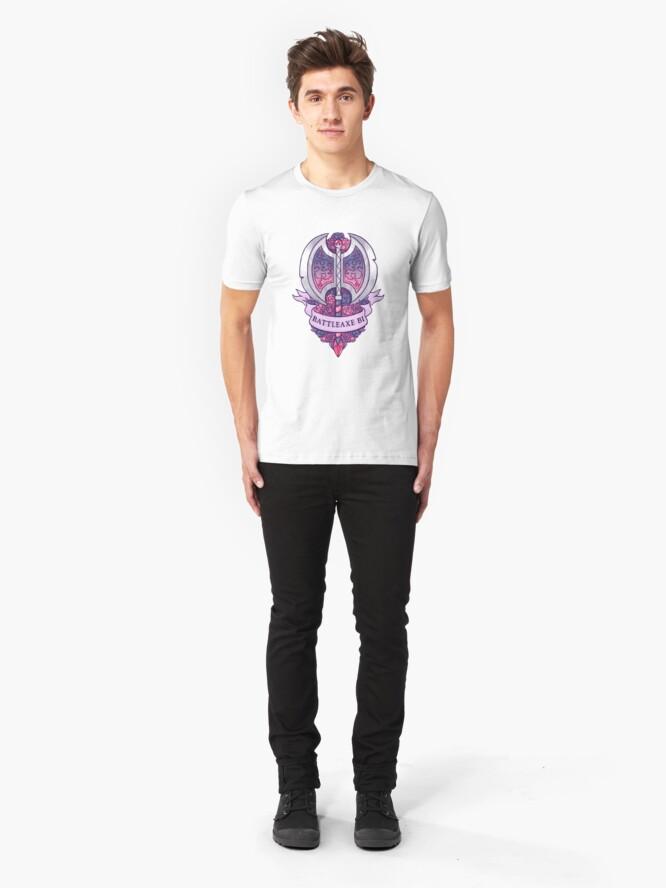 Alternative Ansicht von BATTLEAXE BI Slim Fit T-Shirt