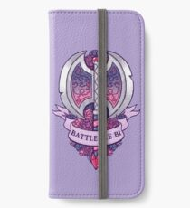 BATTLEAXE BI iPhone Wallet/Case/Skin