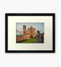 Basilica Di San Francesco Assisi II Framed Print