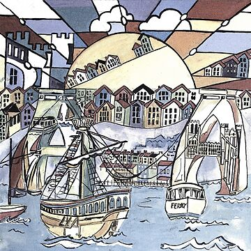 Bristol harbour by milesdesignart