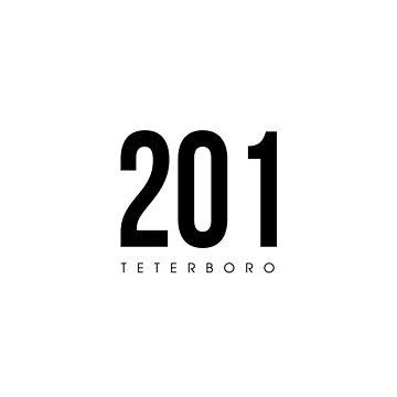 Teterboro, NJ - 201 Area Code design by CartoCreative
