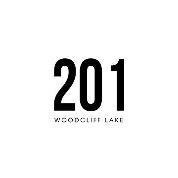 Woodcliff Lake, NJ - 201 Area Code design by CartoCreative