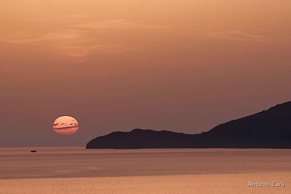 Sunset in Capri by Antonio Zarli