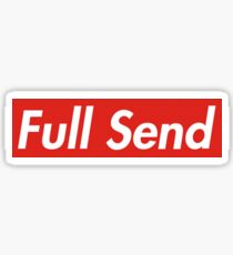 Full Send Sticker