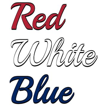 Red, White, Blue by Mizzo1