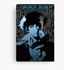 Cowboy Bebop Spike Spiegel smoke Canvas Print
