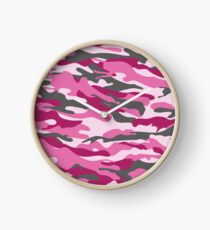 Barbie cammo Clock