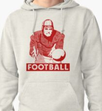 1930 Football Player Pullover Hoodie