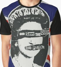 Sex Pistols, God Save the Queen, punk Graphic T-Shirt